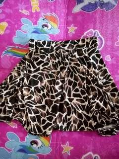 Animal print skirt for sale!