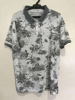 Oxygen Floral Polo Shirt