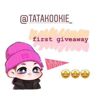 GIVEAWAY ON GOING