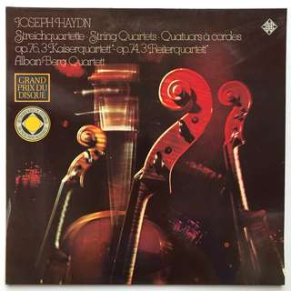 Alban-Berg Quartet plays Haydn String Quartets TELEFUNKEN 6.41302