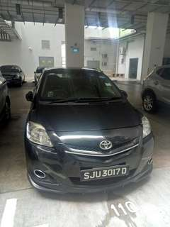 Toyota Vios 1.5A Private Hirer/Personal Rental