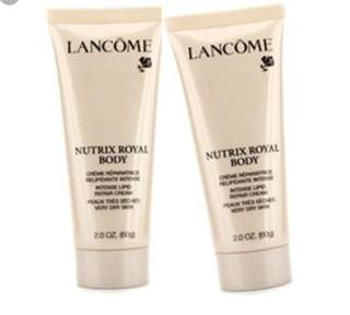 Lancome Nutrix Royal Body Repair Cream