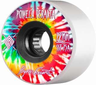 Powell Peralta bryon essert 72mm 75a longboard wheels