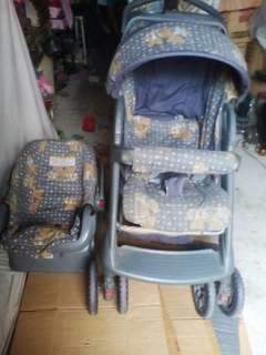 Irdy Stroller with Baby Carrier