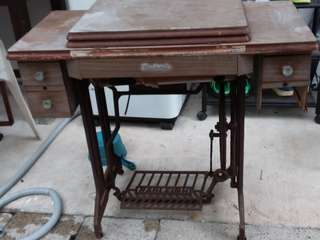 Antiques Sewing machine metal stand
