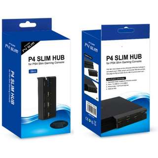 Playstation 4 PS4 USB Hub for ps4 Slim (New)