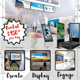 [Purchase / Rental] Digital Signage Provider