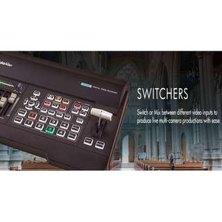 DATAVIDEO SE-650 4 channel HD switcher