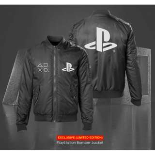 PlayStation Pro Gaming Bomber Jacket (FREE STICKER)