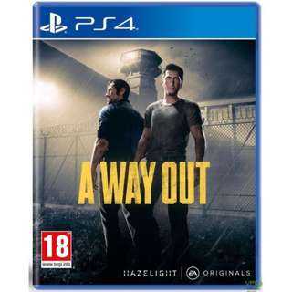 PS4 A Way Out R3 (Used)