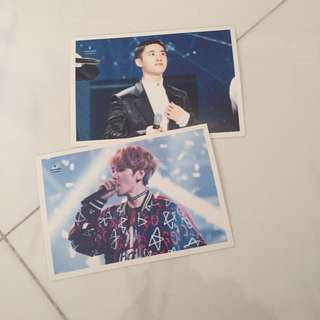 Exo concert post card