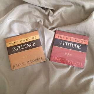 Inspirational books by John Maxwell! (For Php 100 EACH)