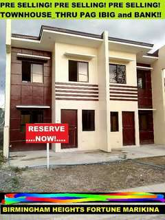 Birmingham Heights 2 bedroom house for sale in Fortune Marikina City