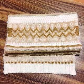 🚚 韓國 民族風 針織 圍巾 #五十元好物