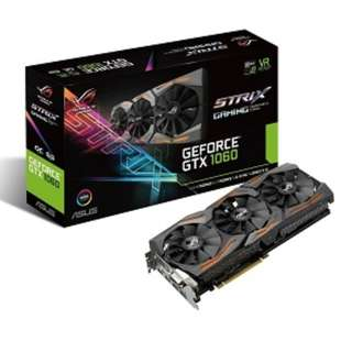 ASUS ROG Strix GeForce® GTX 1060 OC edition 6GB GDDR5