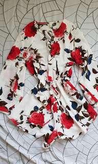 Floral summer jumpsuit