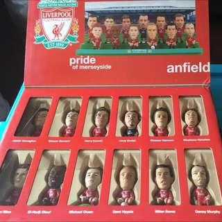Corinthian Prostars Fans favourite Liverpool 利物浦全隊box set 經典具收藏價值 YNWA!