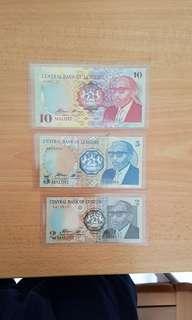 Lesotho banknotes