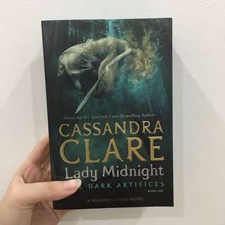Lady Midnight by Cassandra Clare (LIMITED EDITION)