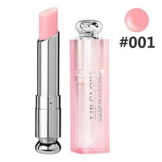 Dior粉漾潤唇膏001