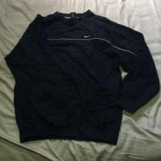 Black Oversized Nike Sweater