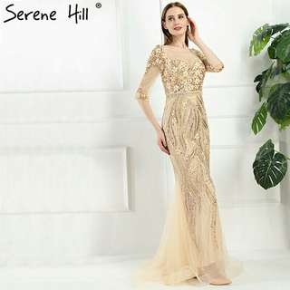 Dubai Mermaid Evening Dresses
