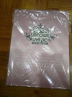 SM Town Live '10 World Tour Catalog SNSD FX SJ TVXQ