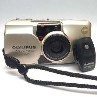 Olympus Mju Zoom 70 Deluxe Film Camera Dengan Remote