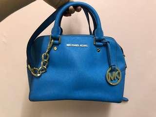 MK blue bag