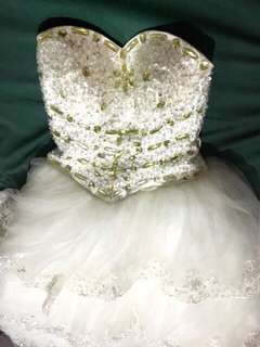 White Prom/Wedding Gown