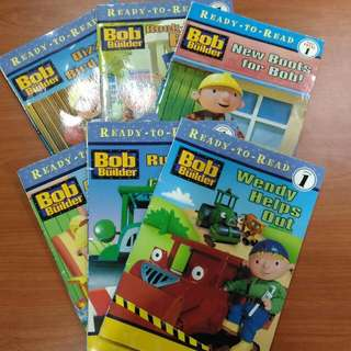 Bob The Builder Level 1 Books