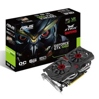 ASUS Strix GeForce® GTX 1060 OC edition 6GB GDDR5