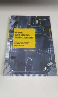 Issues and Crisis Management book by Tony Jaques
