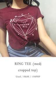 H&M Ring Tee (Cropped Top)