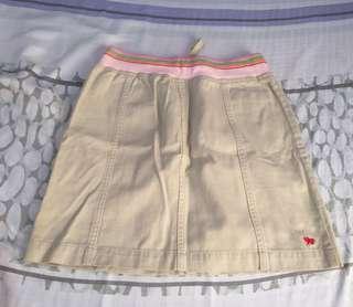 Giordano kids khaki skirt
