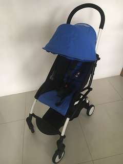 Babyzen Yoyo Stroller - Almost New - Blue