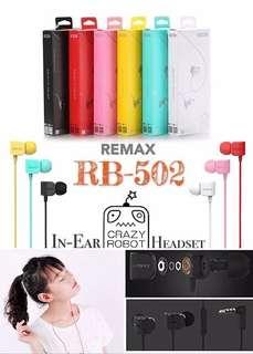 🚚 Remax Crazy Robot Earphone RM-502