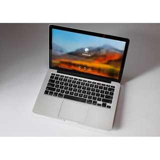 Apple Macbook Pro Retina 256gb 13in Early 2015 Not Dell Hp Razer
