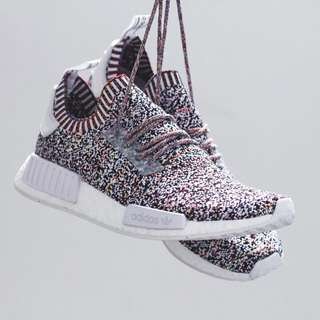 "🚚 Adidas NMD R1 Pk ""Color Static"""