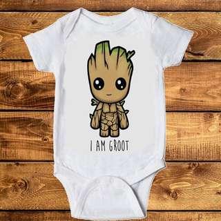 Groot Infant Onsie