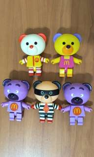 MacDonald bear collectibles