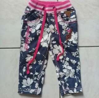 Girls Pants (6-12m)