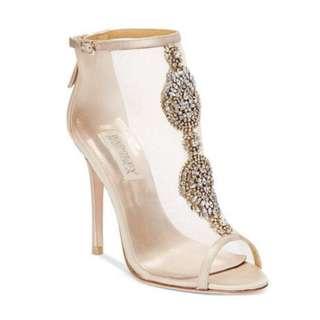Badgley Mischka Rana Evening Booties / High Heels (size 8)