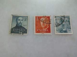 Spain Stamps 3V Used