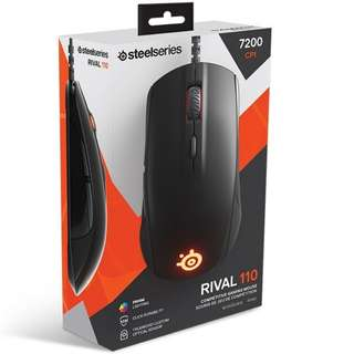 Steelseries Rival 110 (Black/Slate Grey/White)