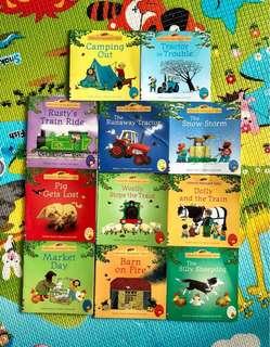 11 Usborne Books