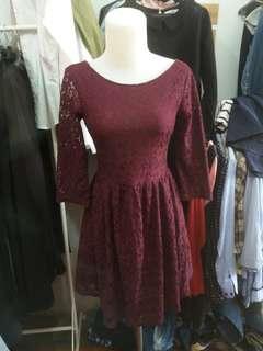 Dress Brokat H&M