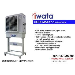 Iwata Air cooler Promo
