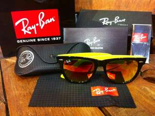 Ray-Ban Wayfarer Black-Yellow RB2140