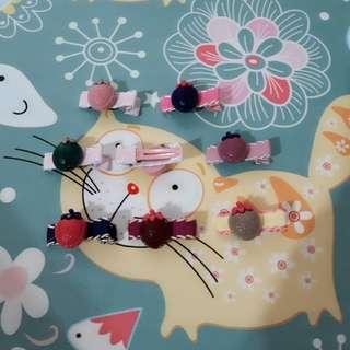草莓寶寶髮飾【一對】